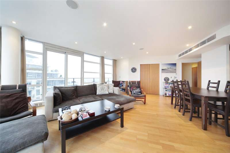 3 Bedrooms Flat for sale in Kingfisher House, Battersea Reach, London, SW18