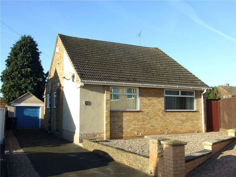 2 Bedrooms Detached Bungalow for sale in East Close, Darley Abbey, Derby, Derbyshire, DE22