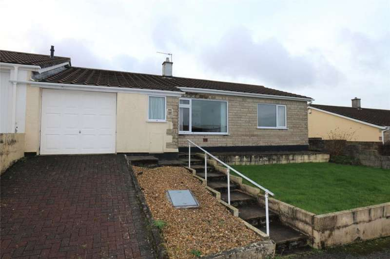 2 Bedrooms Semi Detached Bungalow for sale in Treglenwith Road, Camborne, Cornwall