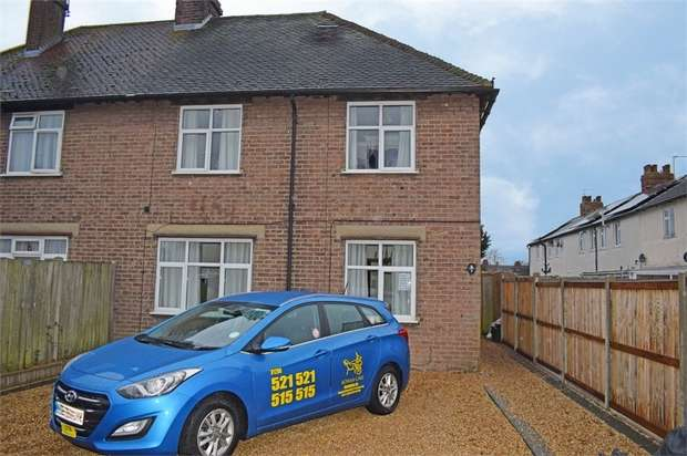 3 Bedrooms Semi Detached House for sale in Gascoigne Road, Colchester, Essex