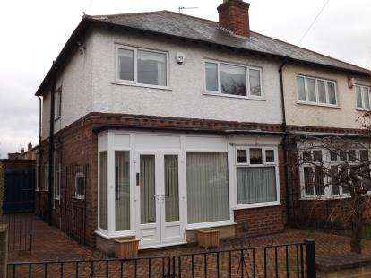 3 Bedrooms Semi Detached House for sale in Rutland Road, West Bridgford, Nottingham