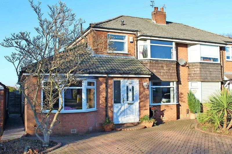 3 Bedrooms Semi Detached House for sale in Turves Road, Cheadle, Cheshire