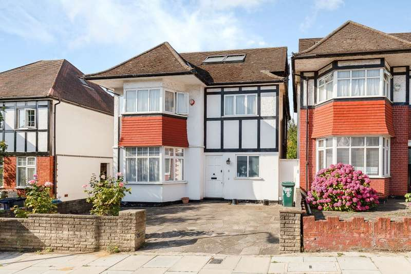 5 Bedrooms Detached House for sale in Shirehall Gardens, London, NW4 2QT