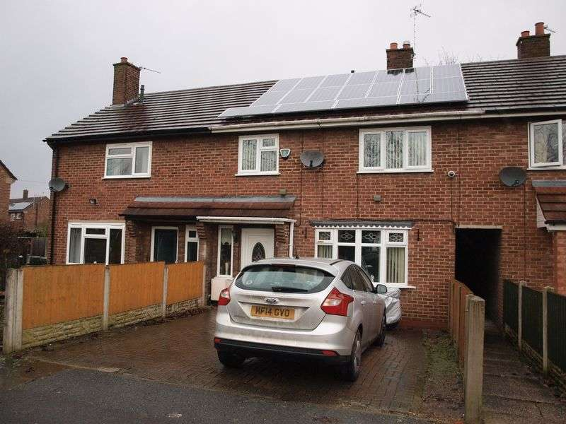 3 Bedrooms Terraced House for sale in Adlington Drive, Northwich, CW9 8BP