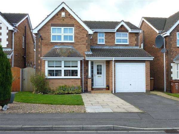 4 Bedrooms Detached House for sale in BARBICAN WAY, NEW WALTHAM, GRIMSBY