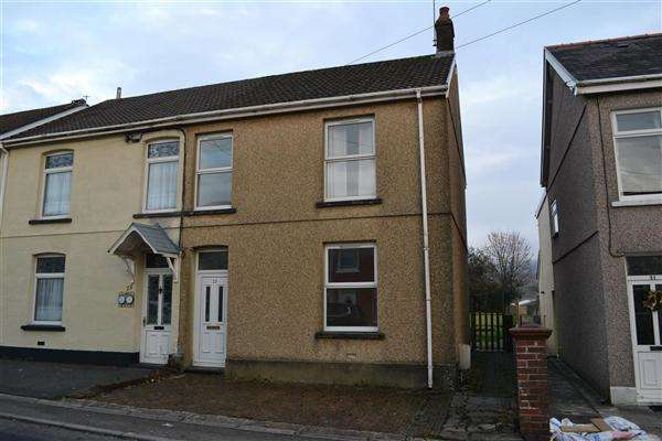 3 Bedrooms Semi Detached House for sale in Mill Terrace, Pantyffynnon, East Carmarthenshire, Ammanford