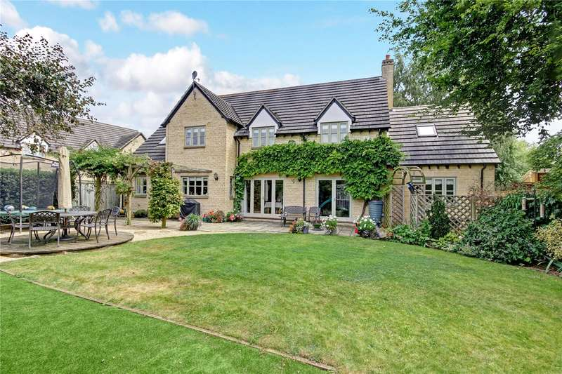 5 Bedrooms Detached House for sale in The Glebe, Standlake, Oxfordshire, OX29