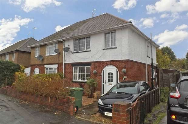 3 Bedrooms Semi Detached House for sale in Queen Mary Avenue, Camberley, Surrey