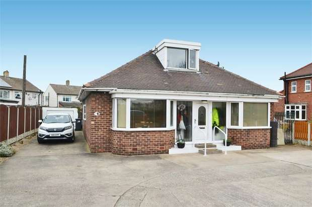 4 Bedrooms Detached Bungalow for sale in Nutwell Lane, Armthorpe, Doncaster, South Yorkshire
