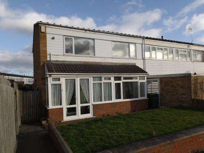 4 Bedrooms End Of Terrace House for sale in Windward Way, Smiths Wood, Birmingham, West Midlands