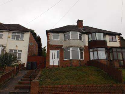Semi Detached House for sale in Fairway, Northfield, Birmingham, West Midlands