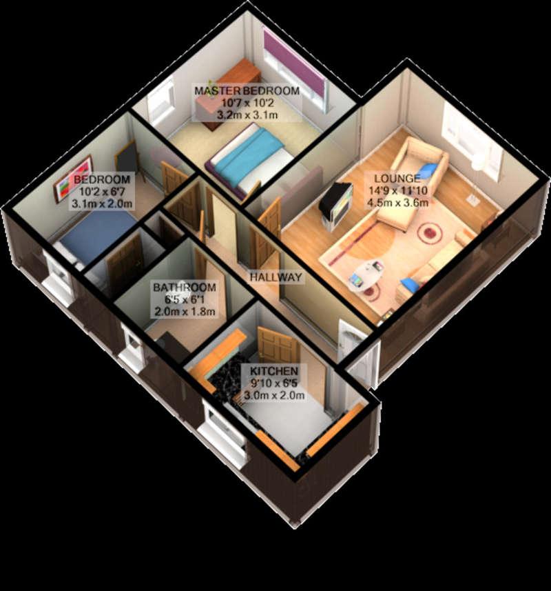 2 Bedrooms Flat for sale in Breckside Park, Liverpool, L6
