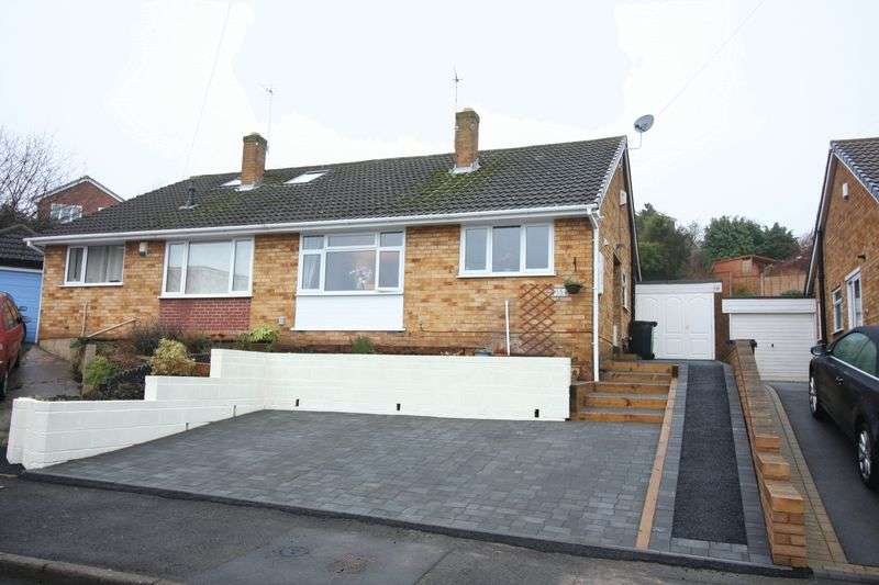 2 Bedrooms Semi Detached Bungalow for sale in WORDSLEY, Warwick Road