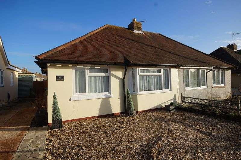 2 Bedrooms Semi Detached Bungalow for sale in Lonsdale Avenue, Portchester, Fareham, PO16