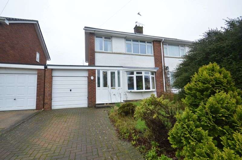 3 Bedrooms Semi Detached House for sale in Mendip Road, Yatton