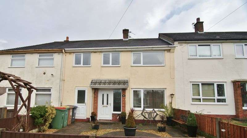 3 Bedrooms Terraced House for sale in Birkdale Drive, Preston, PR2 1UP