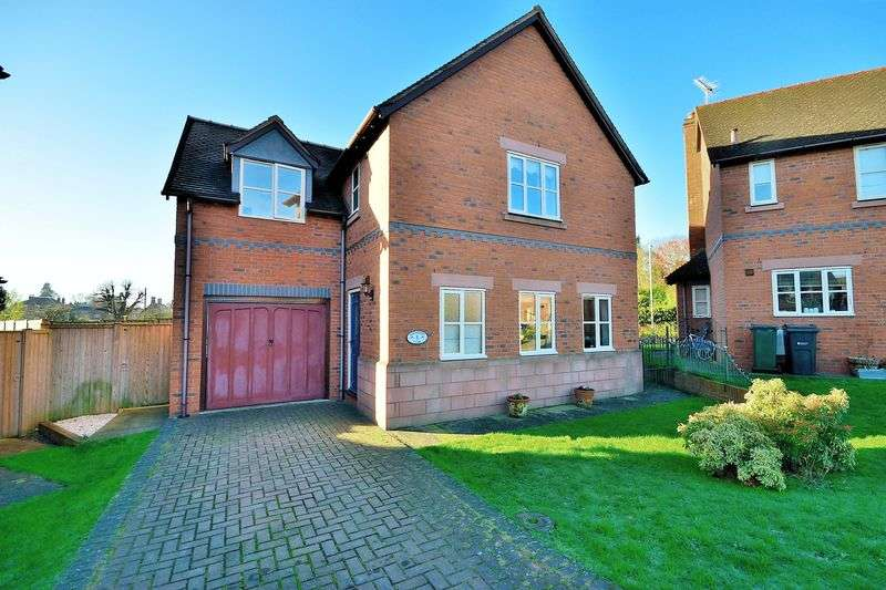 4 Bedrooms Detached House for sale in Barnmoore Close, Malpas