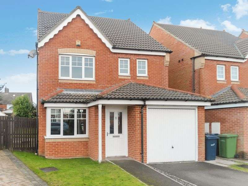 4 Bedrooms Detached House for sale in 25 Ellesmere Close, Houghton Le Spring, DH4 5NJ