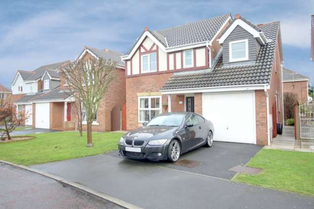 4 Bedrooms Detached House for sale in Peace Place, Thornton-Cleveleys, Lancashire, FY5 4LS