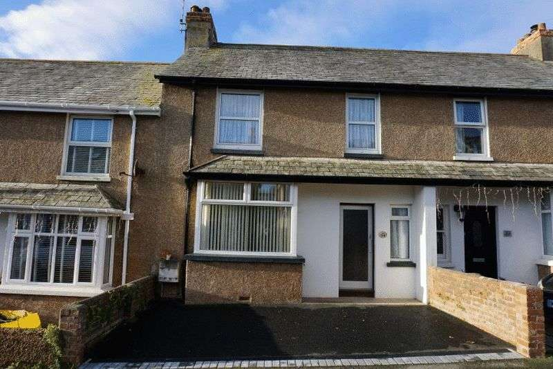 3 Bedrooms Terraced House for sale in Fairfield Road, Bude
