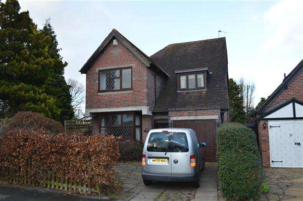 3 Bedrooms Detached House for sale in Hazeloak Road, Shirley, Solihull
