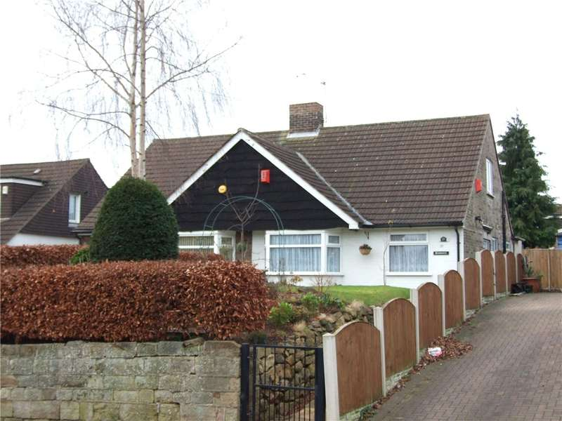 3 Bedrooms Semi Detached Bungalow for sale in Lodge Lane, Spondon, Derby, Derbyshire, DE21