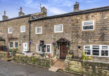 2 Bedrooms Terraced House for sale in Hollin Hall, Trawden, Colne, Lancashire, BB8
