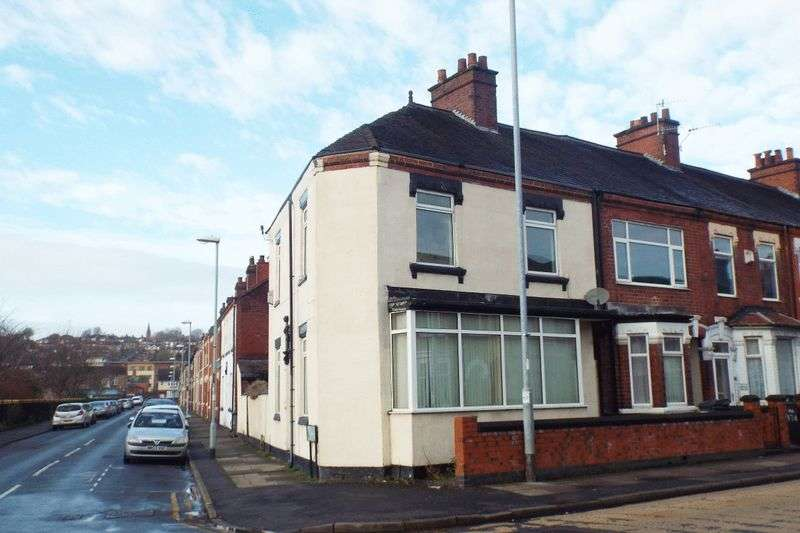 3 Bedrooms Terraced House for sale in Campbell Road, Stoke, Stoke-On-Trent