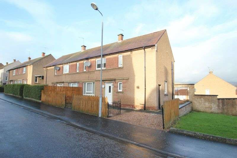 3 Bedrooms Semi Detached House for sale in Woodside Terrace, Clackmannan