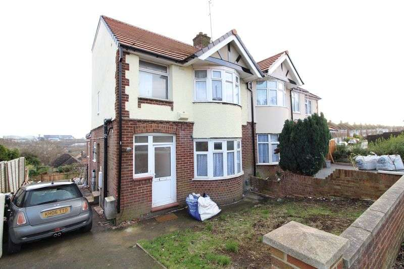 5 Bedrooms Semi Detached House for sale in Wigmore Area - 5 Bedroom extended semi detached family home
