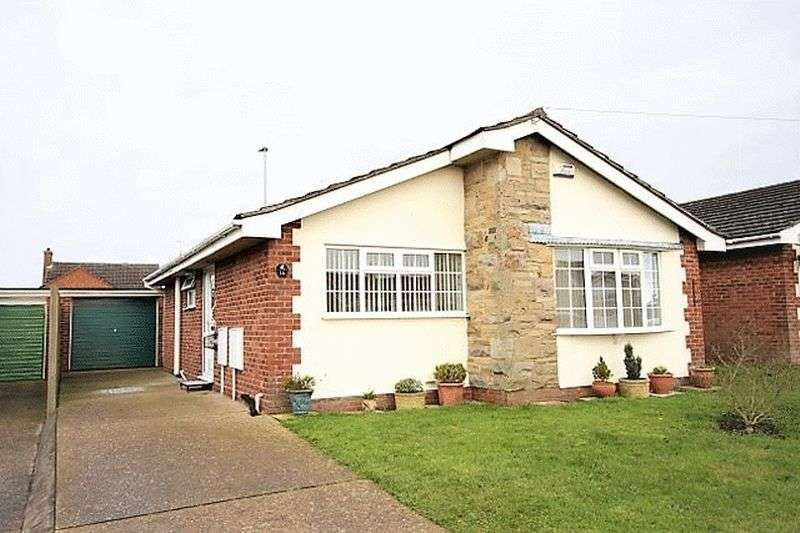 2 Bedrooms Detached Bungalow for sale in Roman Way, Horncastle