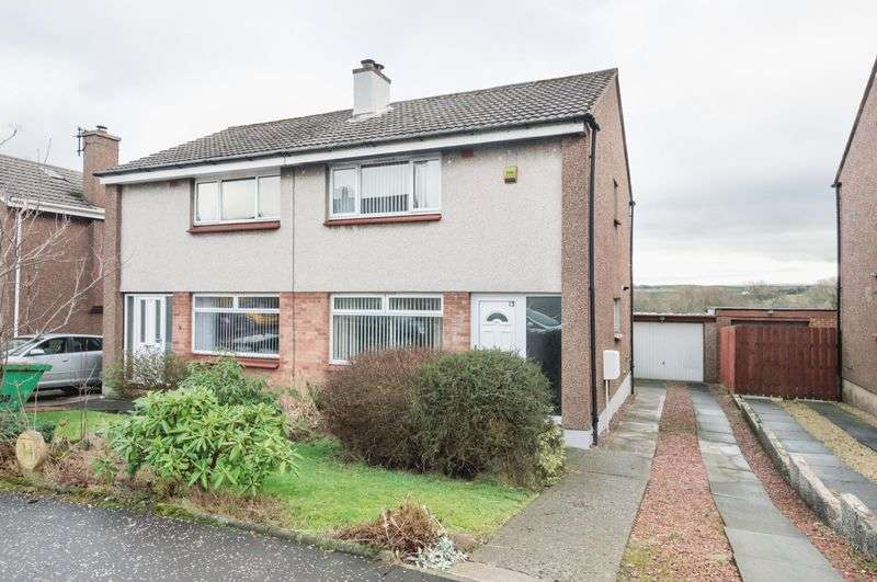 2 Bedrooms Semi Detached House for sale in 13 Ewing Street, Penicuik, Midlothian, EH26 0JY