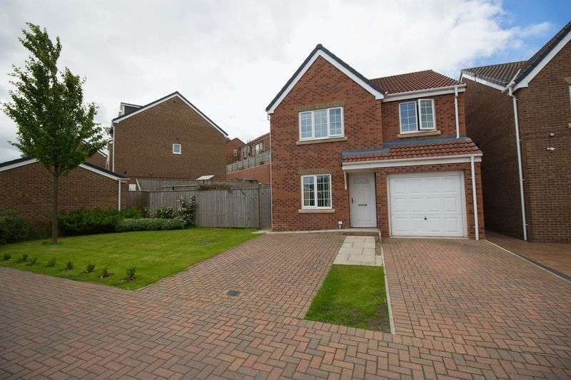 4 Bedrooms Detached House for sale in Masseys View, Blaydon