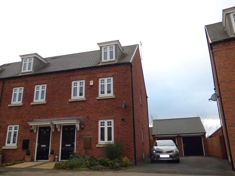 3 Bedrooms Town House for sale in Cornfield Close, Ellistown
