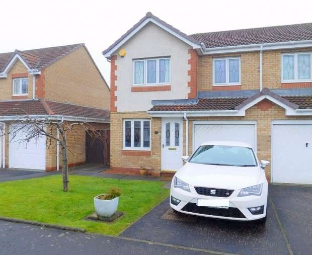 3 Bedrooms Semi Detached House for sale in Craigston Park, Dunfermline, KY12