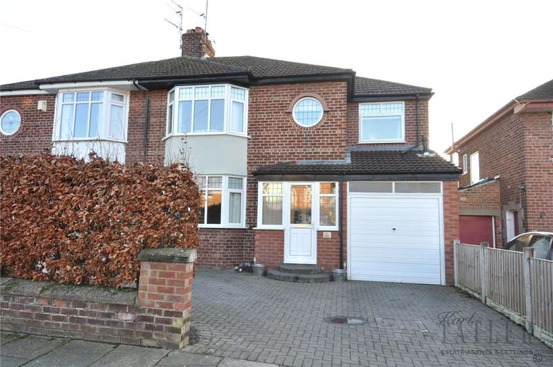 4 Bedrooms Semi Detached House for sale in Dodd Avenue, Greasby, Wirral