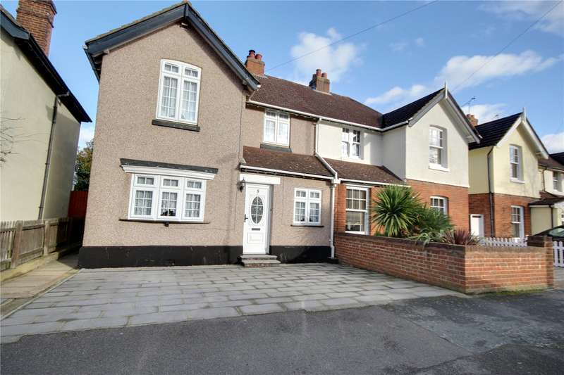 3 Bedrooms Semi Detached House for sale in Esher Avenue, Walton-On-Thames, Surrey, KT12