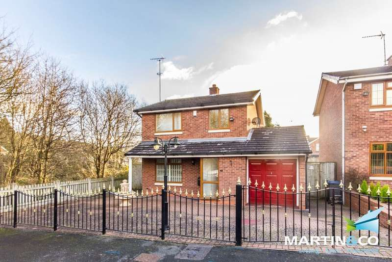 3 Bedrooms Detached House for sale in Camino Road, Harborne, B32