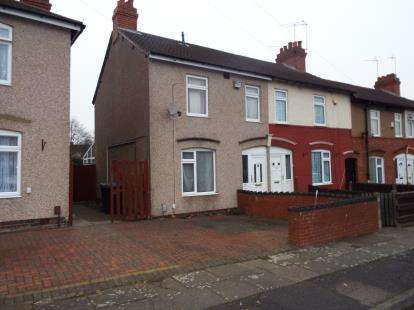 3 Bedrooms Terraced House for sale in Fynford Road, Radford, Coventry