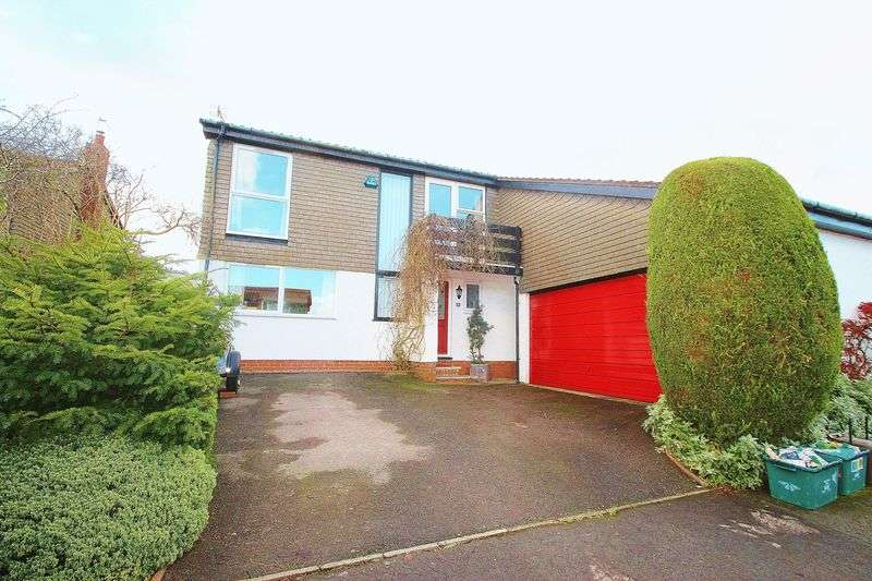 4 Bedrooms Detached House for sale in Monmouth Close, Portishead