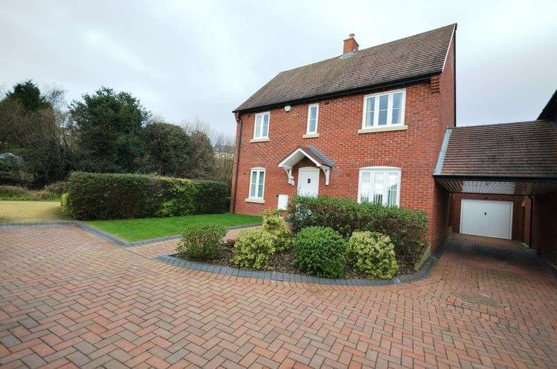 4 Bedrooms Detached House for sale in Stocking Park Road, Telford
