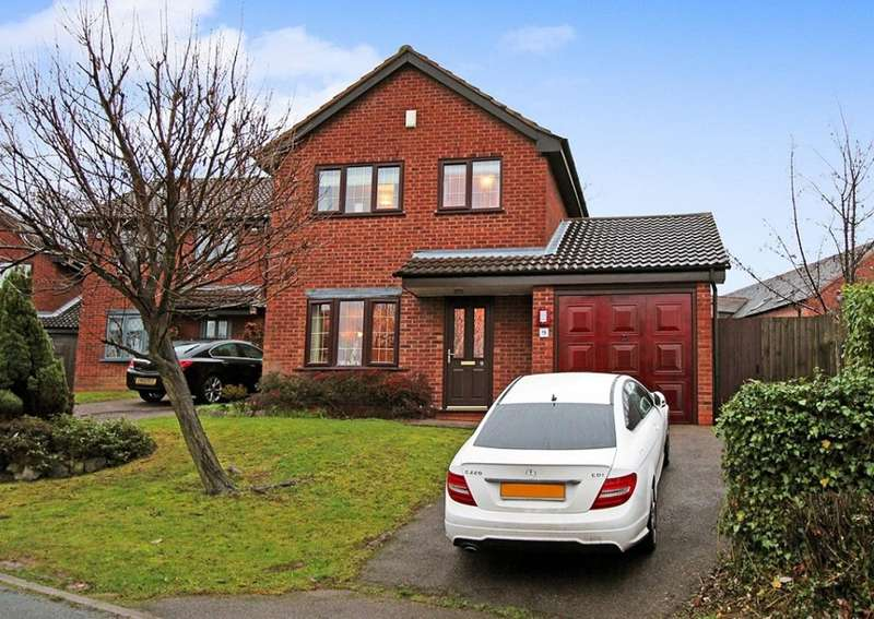 3 Bedrooms Detached House for sale in Coach House Rise, Wilnecote