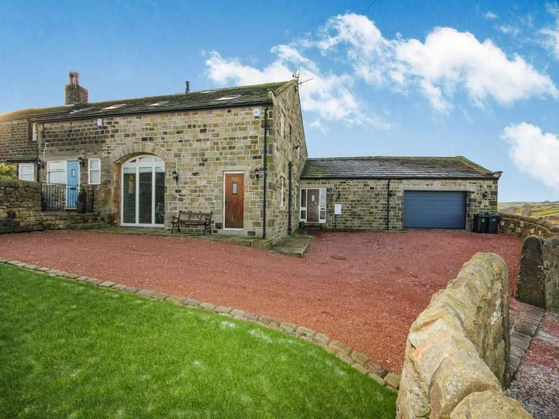 5 Bedrooms Semi Detached House for sale in Bunkers Hill Barn Bunkers Hill Lane, Keighley, BD22