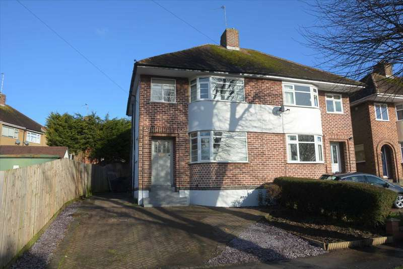 3 Bedrooms Semi Detached House for sale in Oakfield Road, Bilton