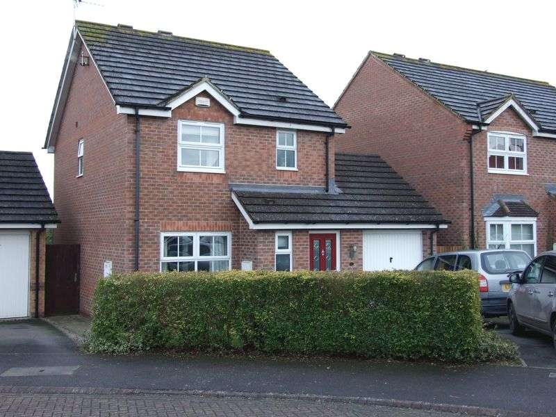 3 Bedrooms Detached House for sale in Abrahams Close, Trowbridge