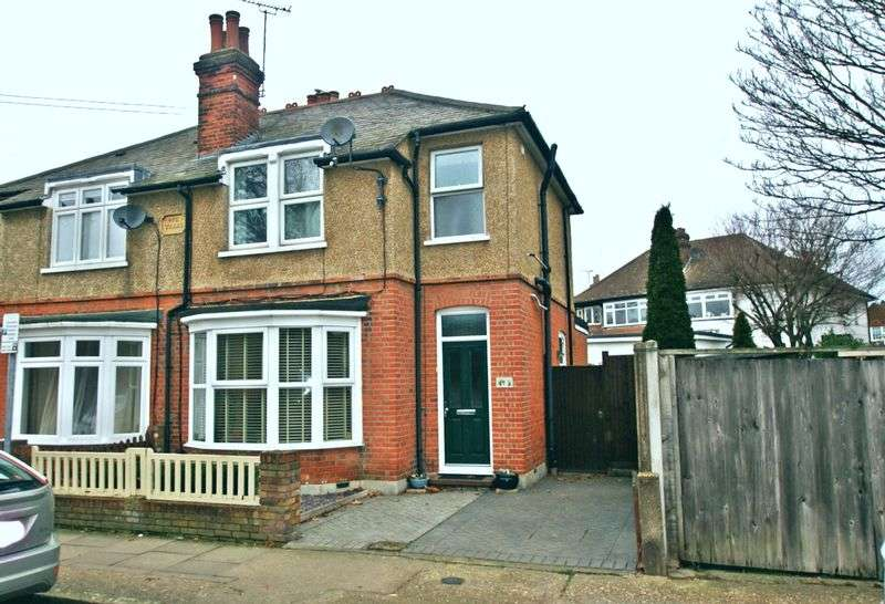 3 Bedrooms Semi Detached House for sale in Marks Road, ROMFORD 425,000 freehold