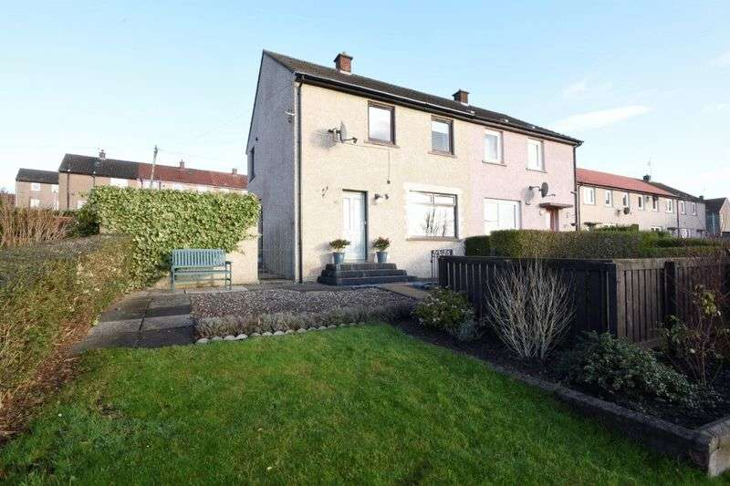 2 Bedrooms Semi Detached House for sale in Wedderburn Place, Dunfermline