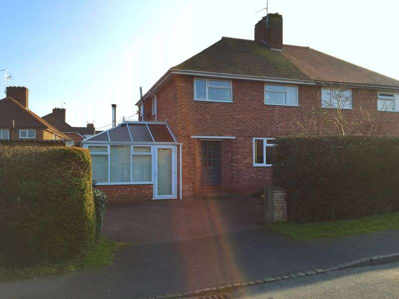 3 Bedrooms Semi Detached House for sale in 28 The Crescent, Eccleshall, Staffordshire. ST21 6AZ