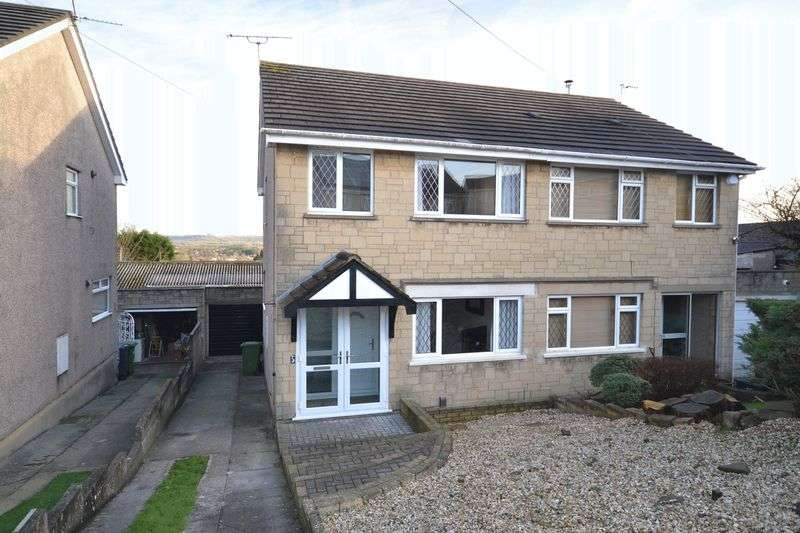 3 Bedrooms Semi Detached House for sale in Dyrham Close, Kingswood, Bristol
