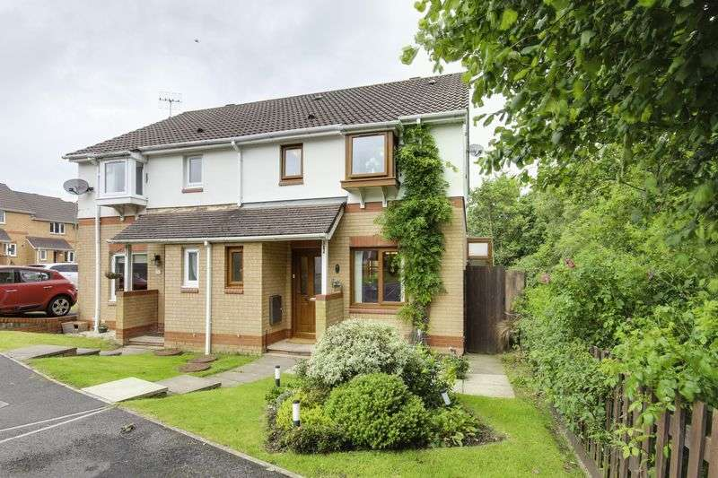 2 Bedrooms Semi Detached House for sale in St. Rhidian Close, Blackwood